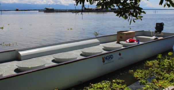 Los bongoductos tienen una capacidad de 4.200 litros de agua cada uno, entregarían dos.