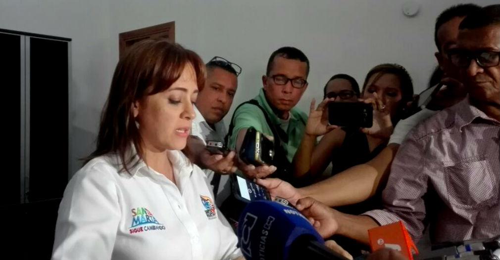 """""""Nuestro deseo es que el alcalde regrese lo antes posible"""": Alcaldesa encargada"""