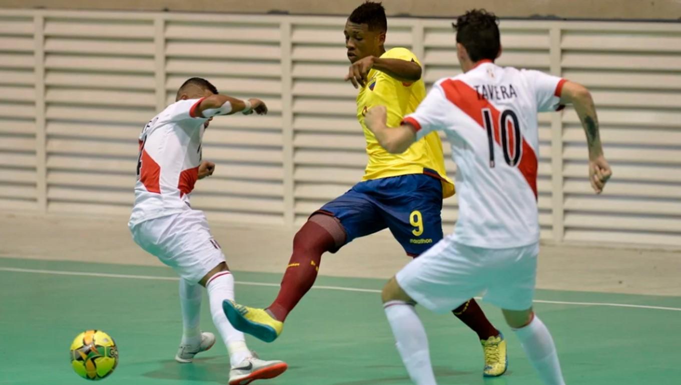 Colombia, Perú y Venezuela debutaron con victoria en futsala