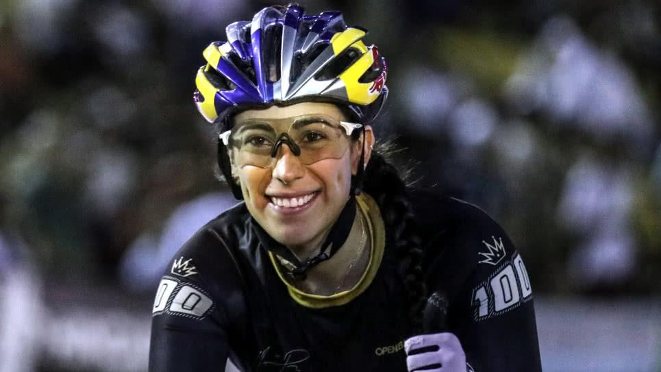 Mariana Pajón busca ahora el oro en ciclismo de pista