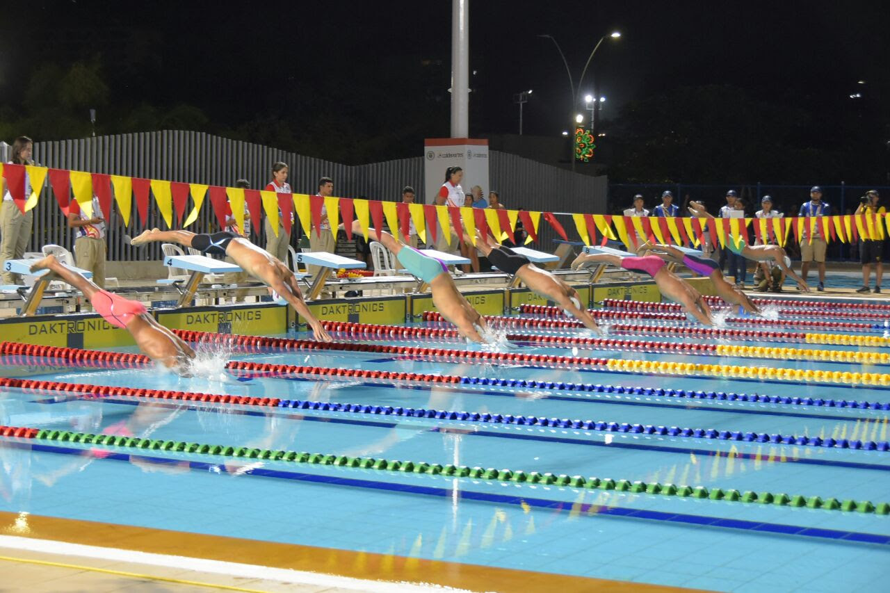 El complejo acuático es uno de los nuevos escenarios de los Juegos Bolivarianos.