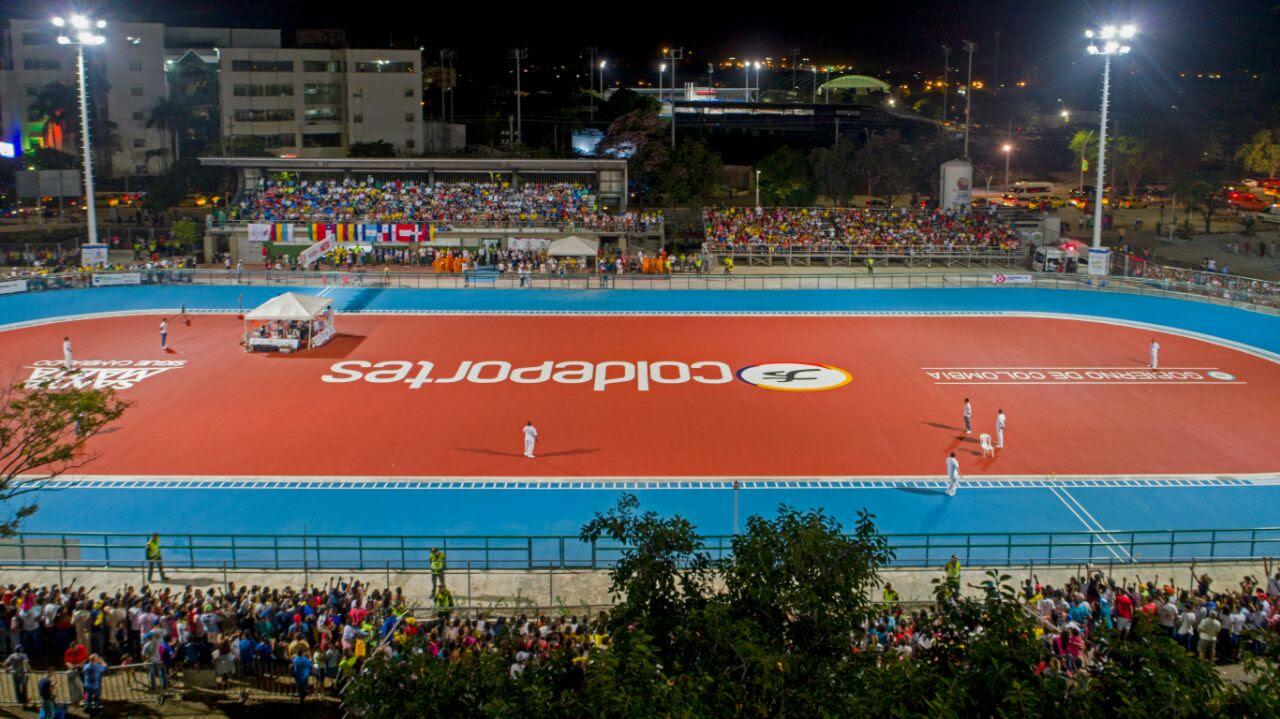 La pista de patinaje es otro de los escenarios deportivos.