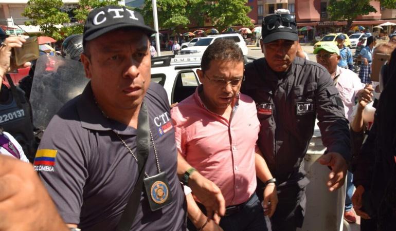 Rafael Martínez no pudo cumplir la cita ante la Procuraduría