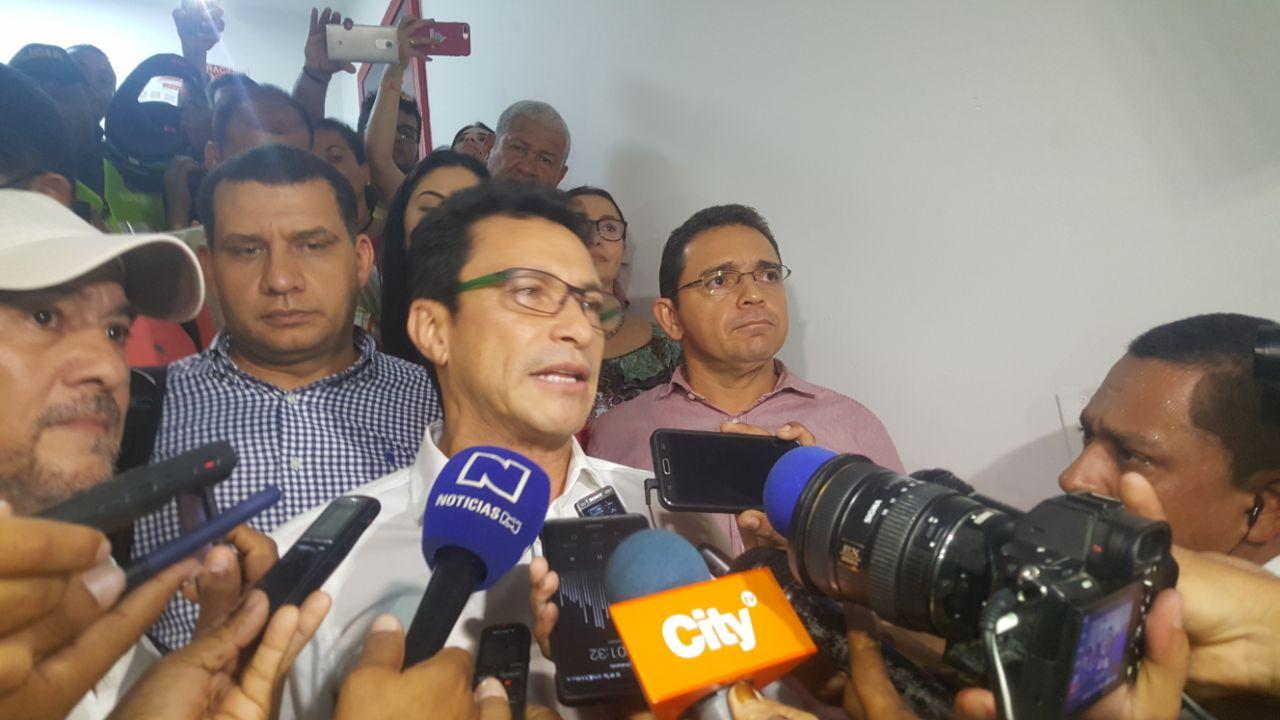 """""""Los Cotes y los Díaz Granados en lo absoluto han sido investigados"""": la reacción de Caicedo"""