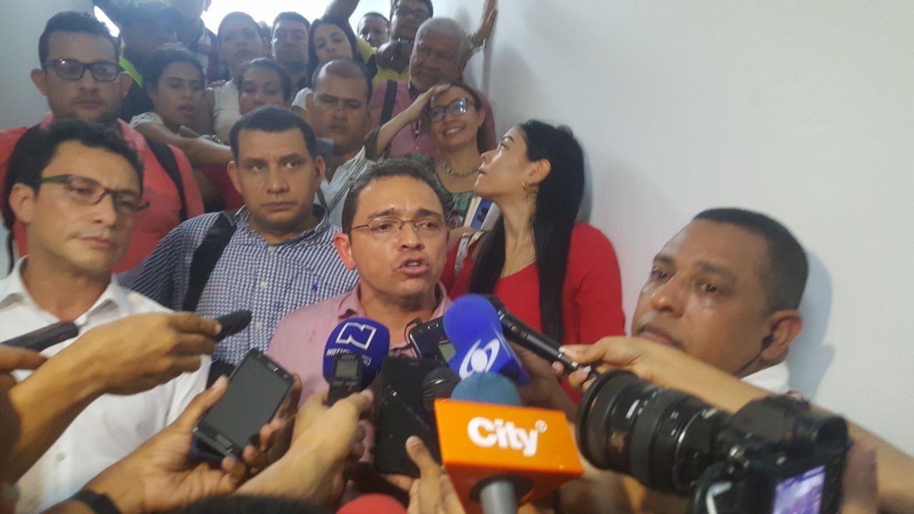 """""""Pedían penas por más de ocho años de cárcel para nosotros"""", Rafael Martínez"""