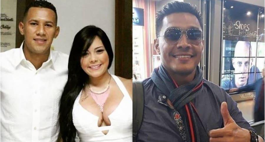James Sánchez, Karina Crus y Teófilo Gutiérrez