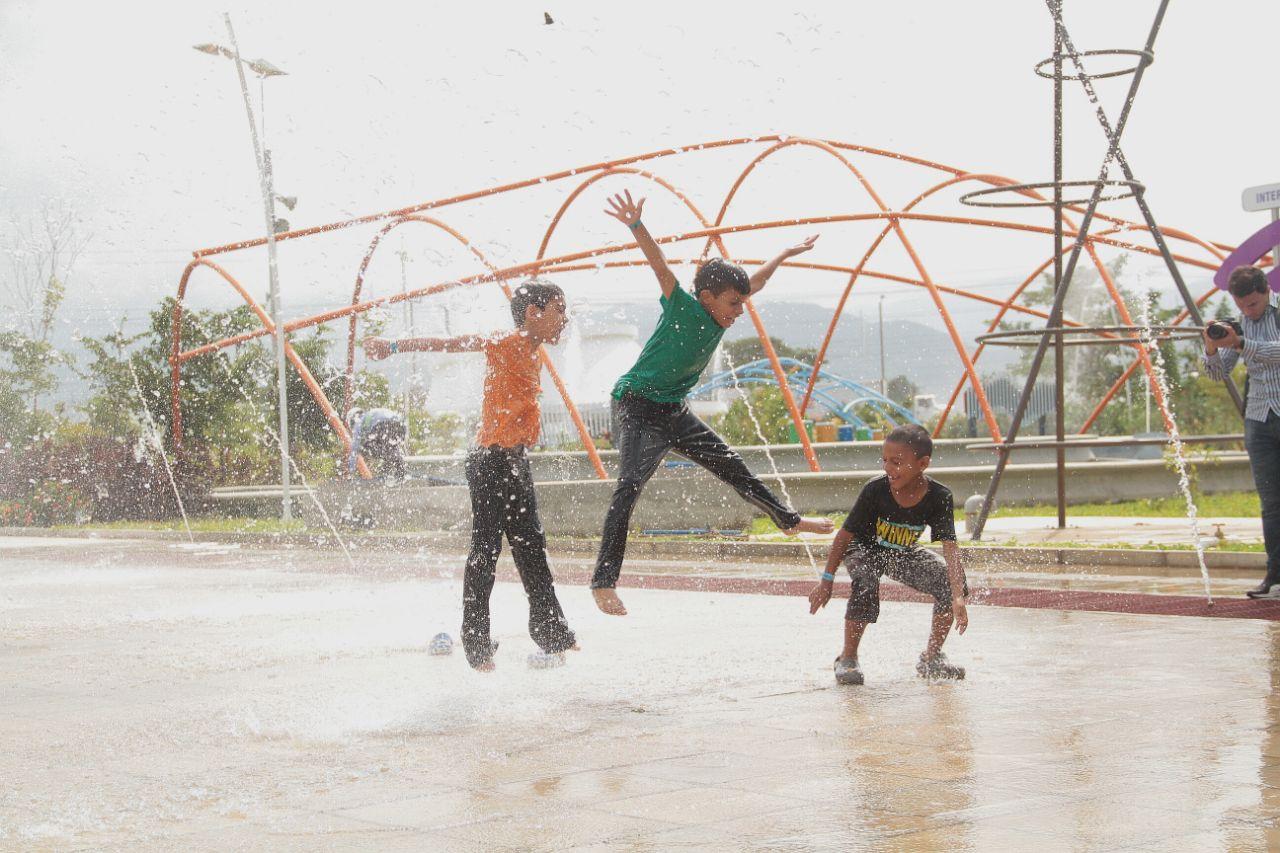 Los niños serán quienes más disfrutarán del parque del Agua.