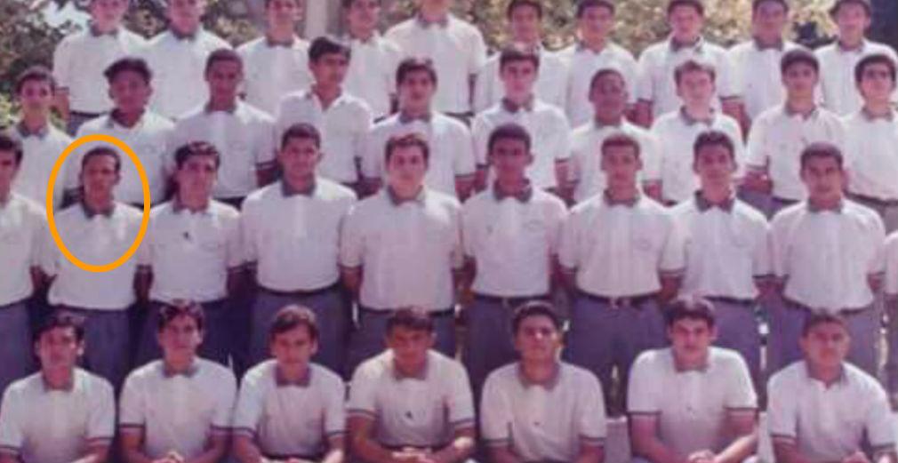 Julio Alberto Reyes Andrade (circulo naranja) se graduó del Colegio San Luis Beltrán de Santa Marta