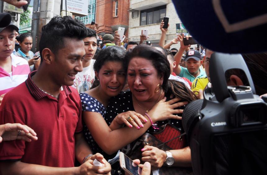 El Dolor De Una Madre Patricia Acosta Al Recibir El