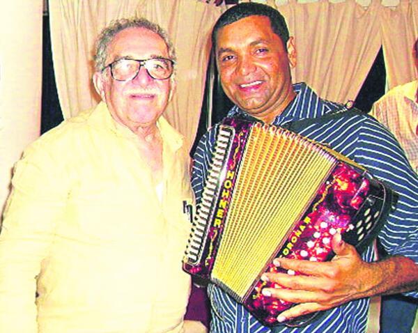 Fue el acordeonero predilecto de Gabriel García Márquez.