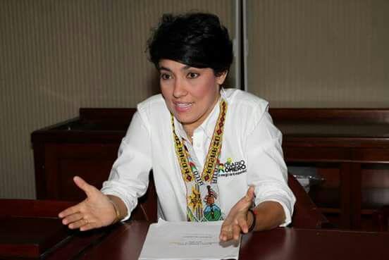 Rosario Romero fue aspirante a la Alcaldía de Cartagena.