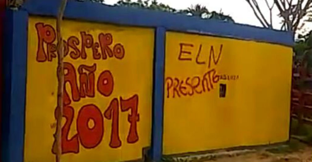 Los letreros aparecieron en espacios públicos, en los límites entre Cesar y Magdalena.