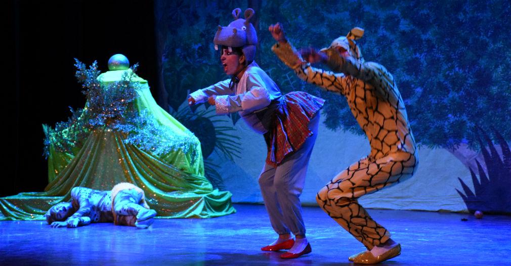 Los espectáculos para niños son una buena opción cultural familiar en Santa Marta.