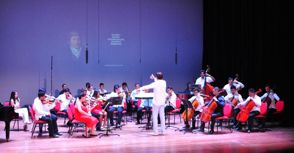 En el Teatro Cajamag se han presentado desde comedias hasta música clásica.