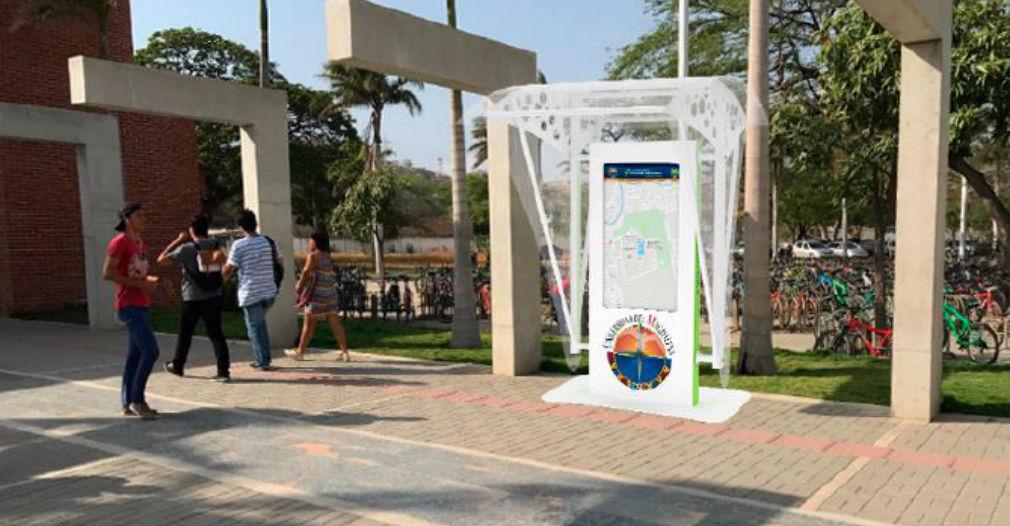 Serán dos los kioskos que instalarán en la Universidad del Magdalena.