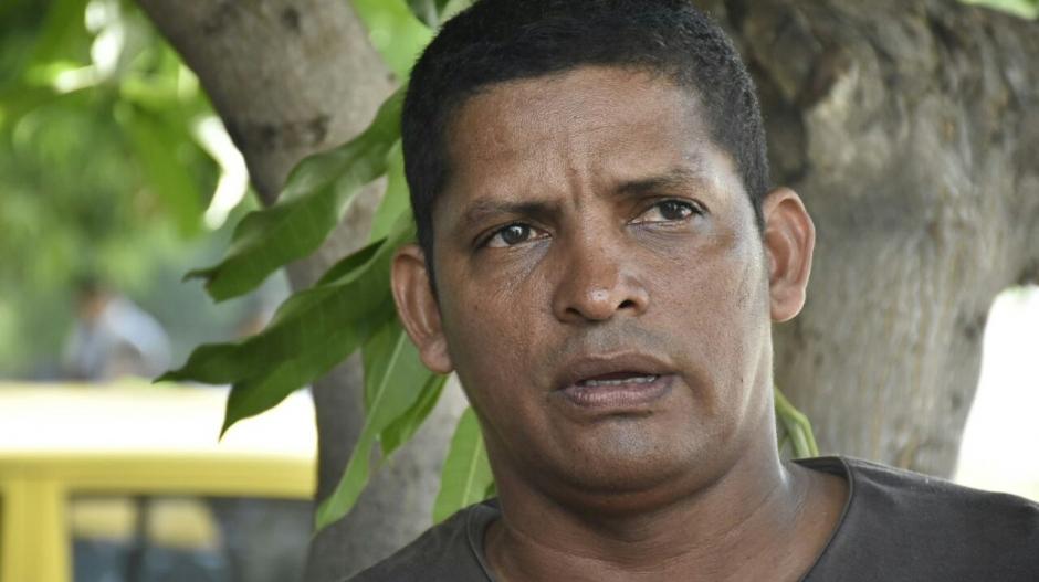 Jorge Luis González, padre de Luis Alberto González Chiquillo.