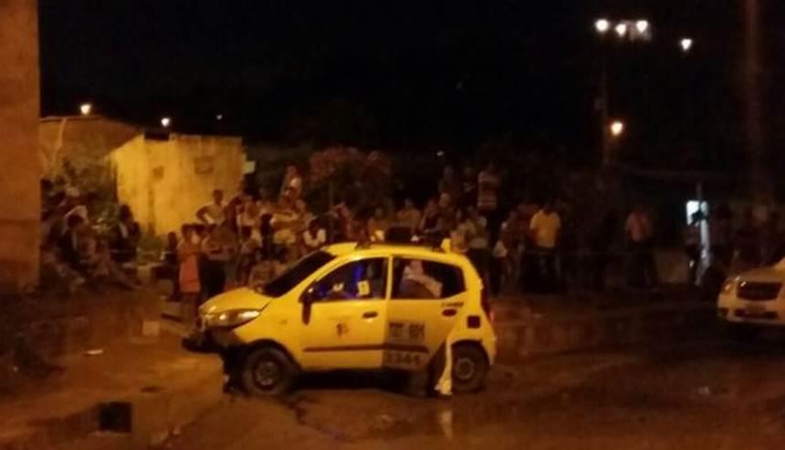 Homicida del taxista en Chimila al parecer iba de copiloto: Policía