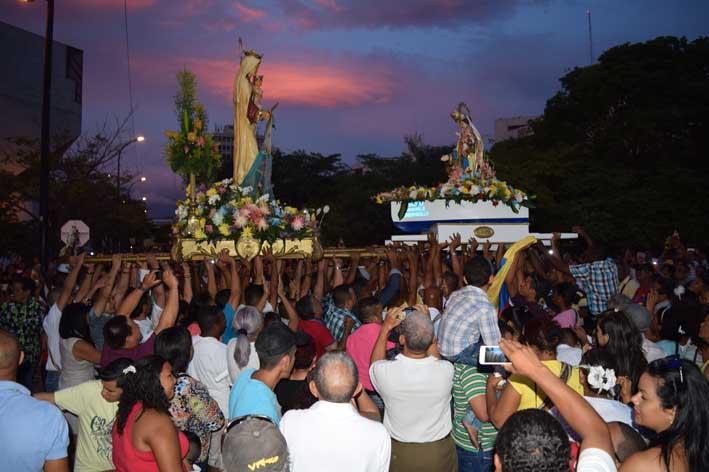 Con diferentes operativos la Policía garantizará la seguridad durante celebración de la Virgen del Carmen