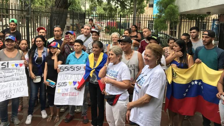 En Santa Marta 1.984 venezolanos participaron en la Consulta