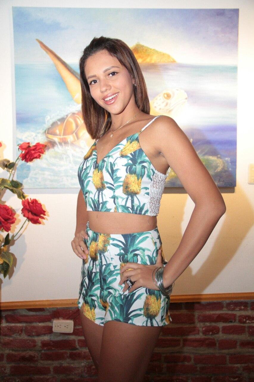 Eliut Margarita Ávila Palmera del barrio 13 de junio.