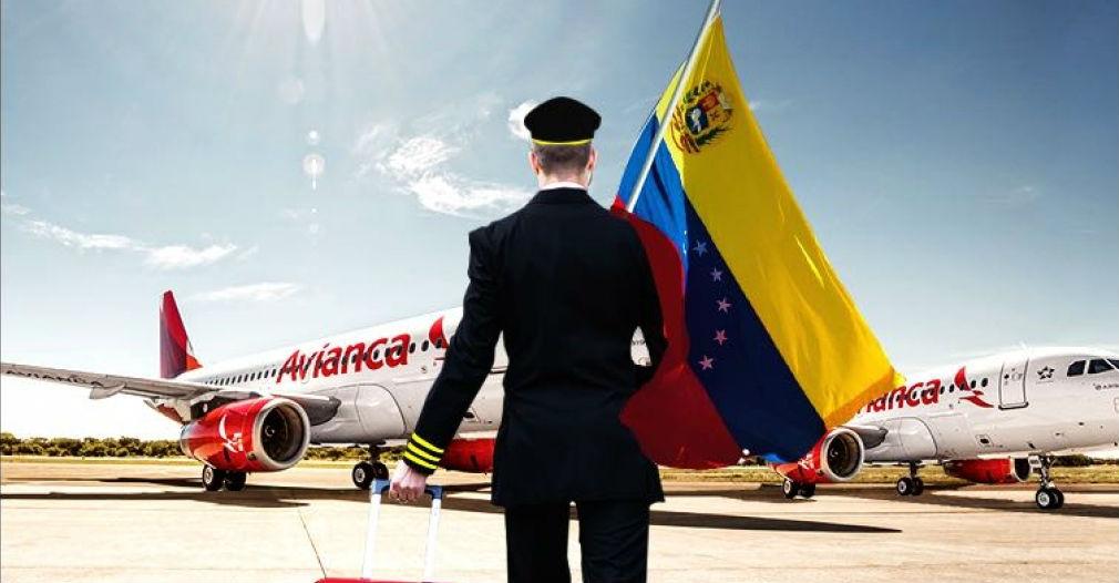 Avianca suspende los vuelos desde y hacia Venezuela, a partir del 16 de agosto