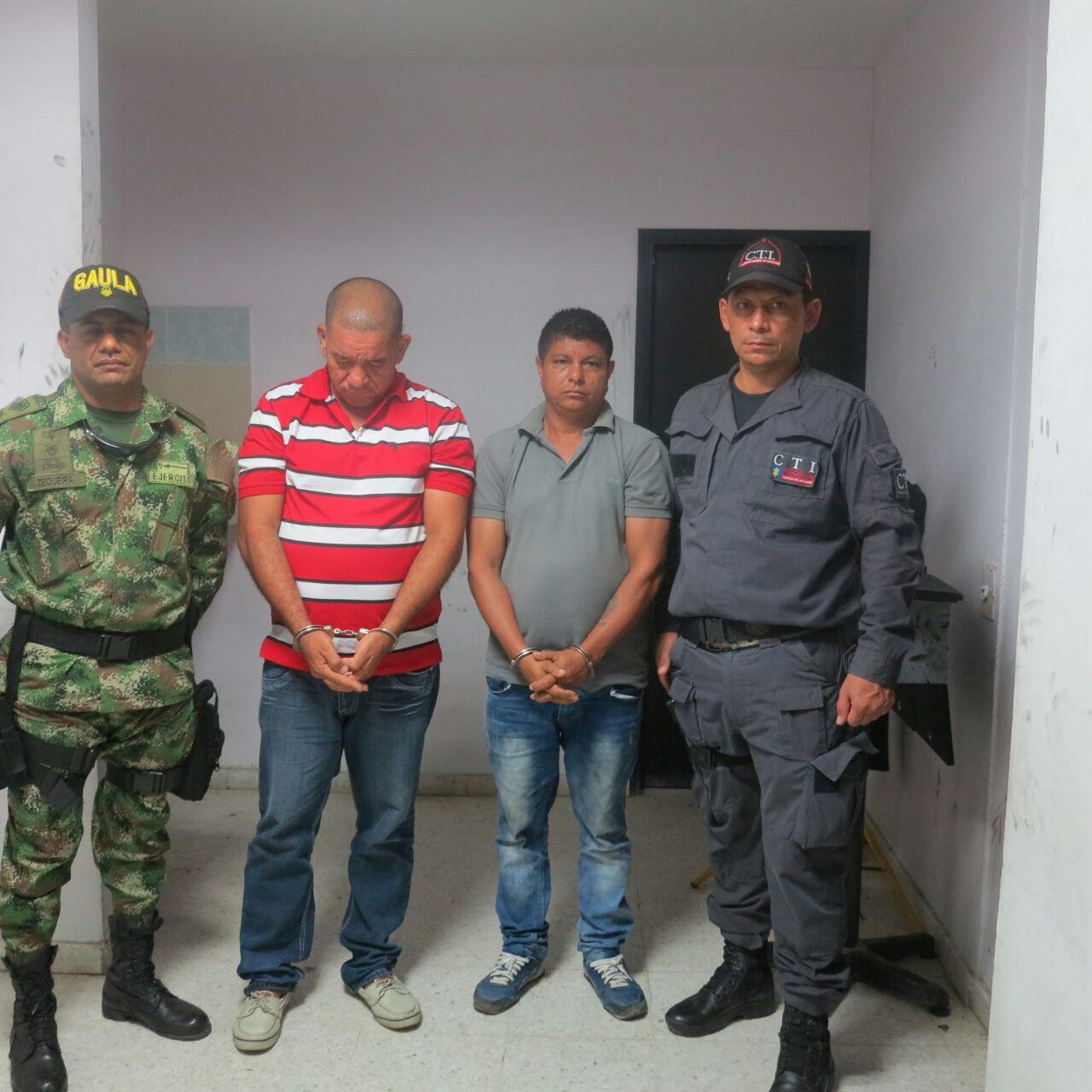 """Capturan en Santa Marta y Valledupar a 14 presuntos miembros de la """"Oficina Caribe"""""""