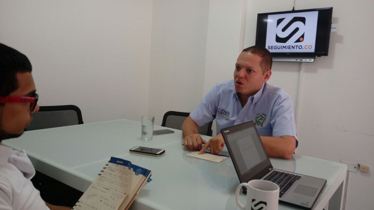Edgardo Pérez, alcalde de Ciénaga, habló acerca de proyectos clave como la intervención del centro histórico.