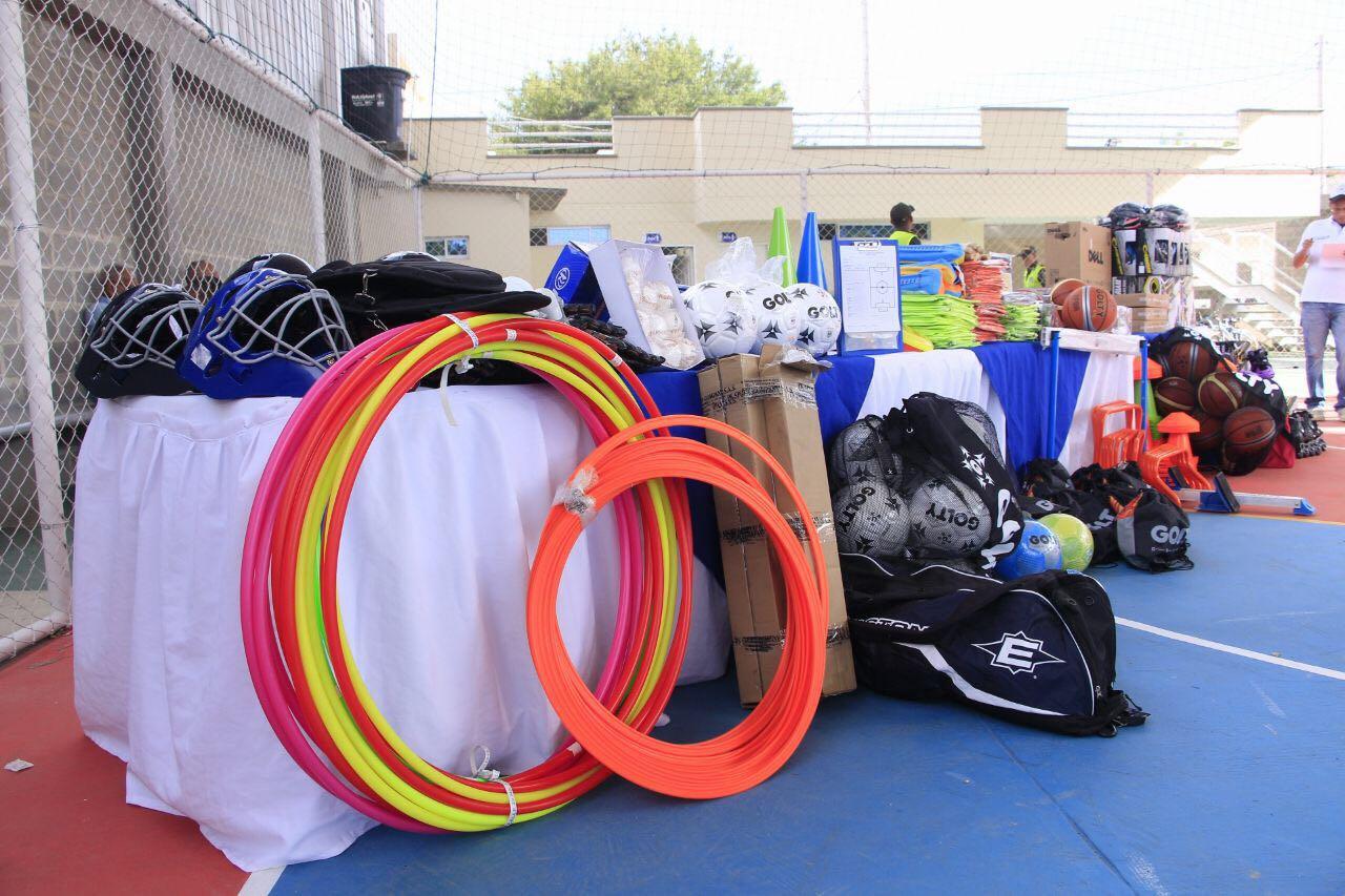 Los elementos deportivos fueron entregados a través del Plan Decenal del Deporte que lidera la Oficina de Cultura y Deporte del Municipio.