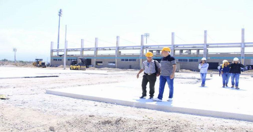 Alcaldía de Ciénaga realiza labor de inspección de obras en varios frentes de trabajo