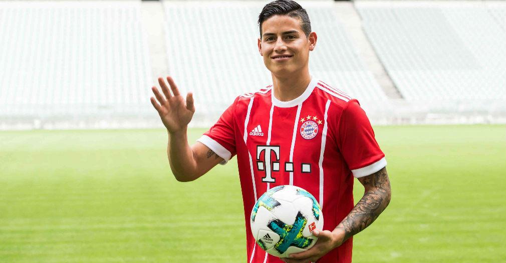La millonaria suma que ganará James en el Bayern Múnich