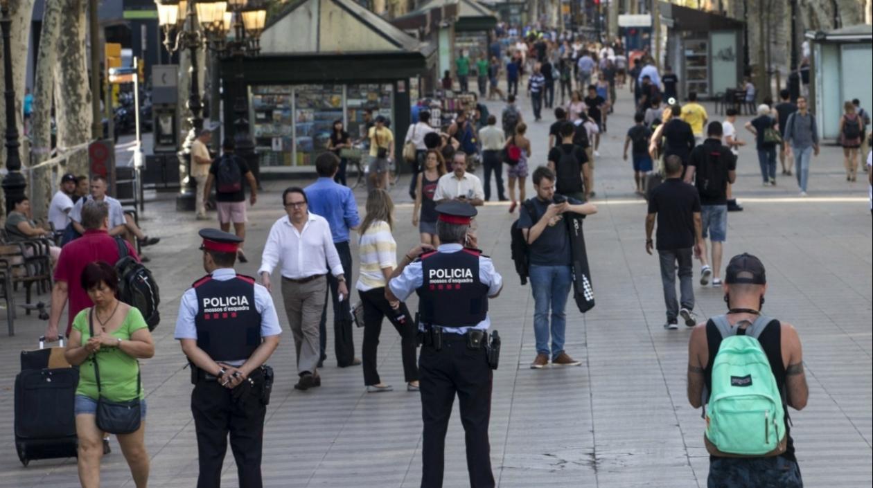 Colombiano herido en atentado de Barcelona fue dado de alta