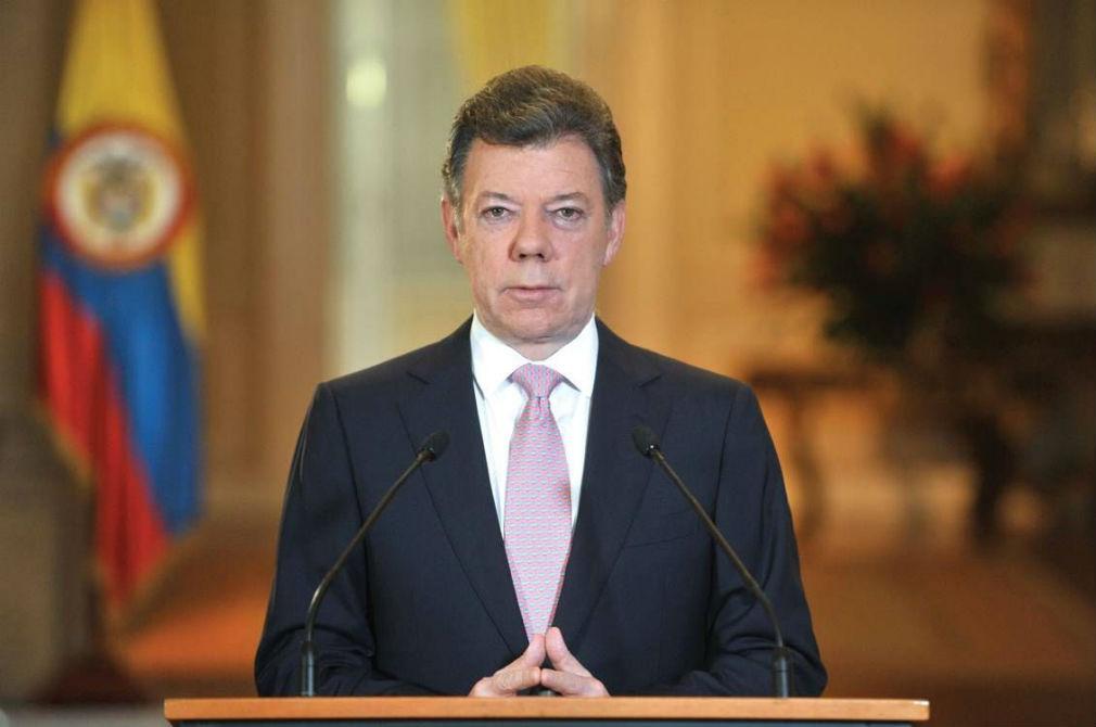 #Vídeo Presidente Santos expresó solidaridad al Rey de España  por atentado en Barcelona
