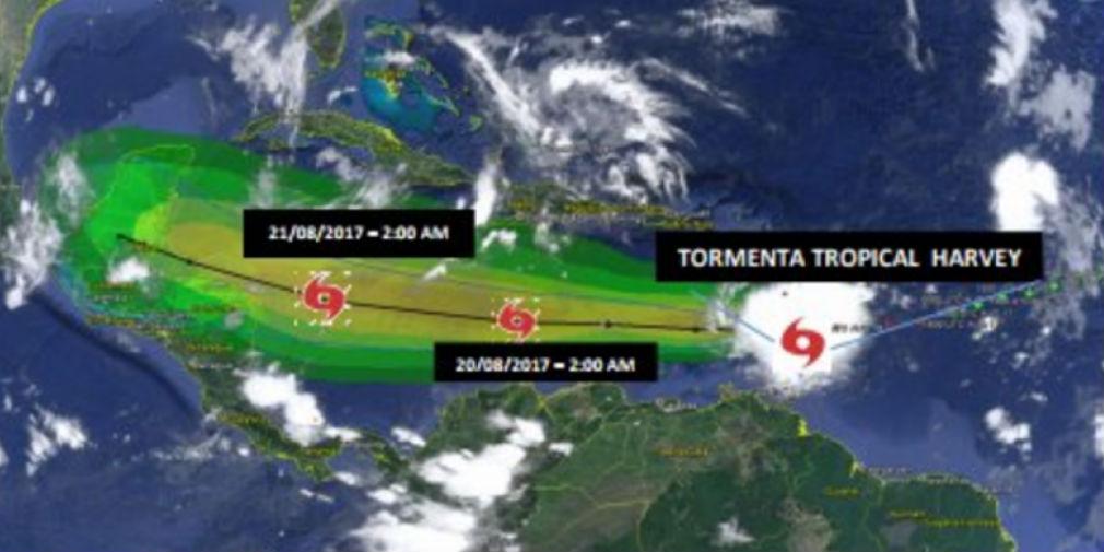 #Atención Tormenta tropical Harvey afectará el departamento del Magdalena
