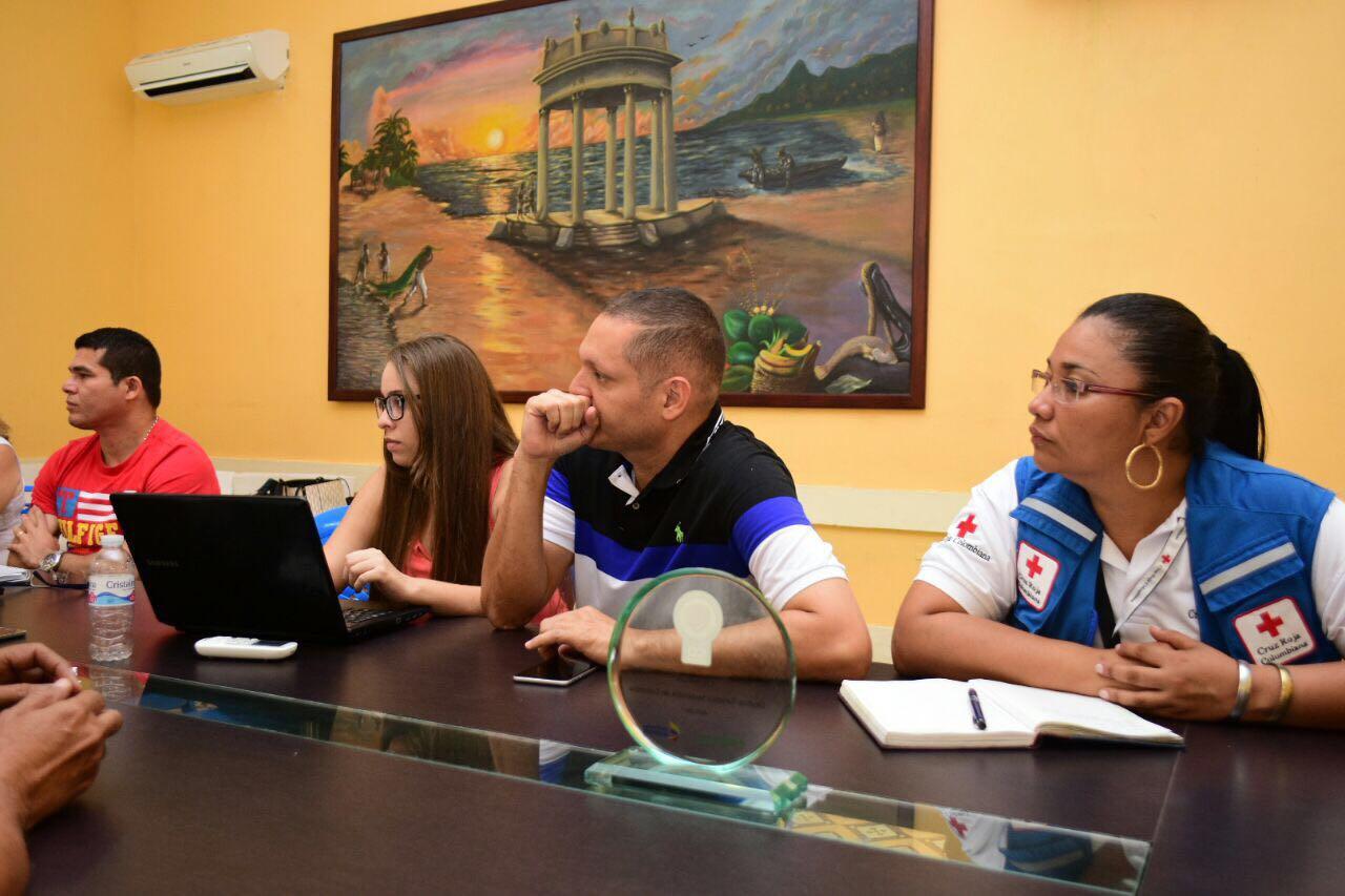 Consejo extraordinario para la gestión del riesgo en Ciénaga para enfrentar la tormenta Harvey