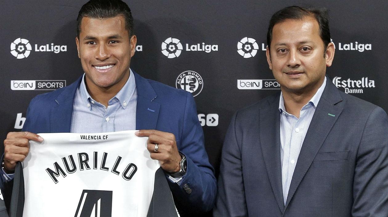 Jeison Murillo se convierte en el tercer colombiano en fichar por el Valencia