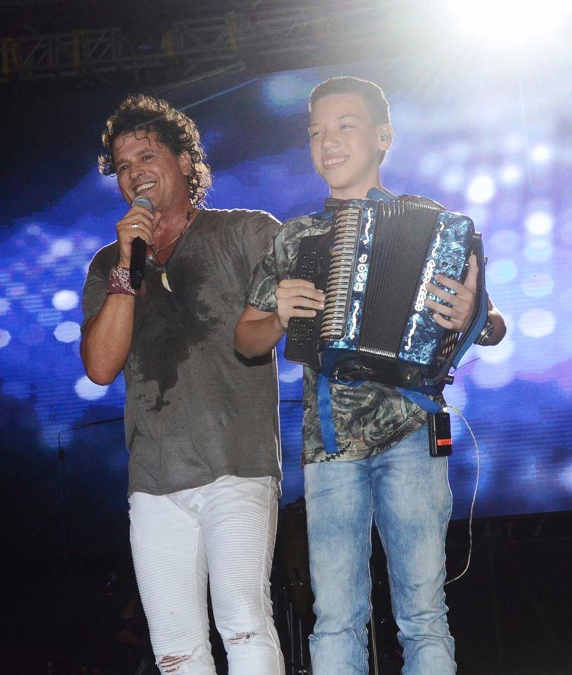 José Aldana y Carlos Vives, en Pescaíto