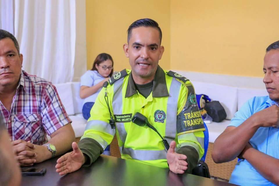 Nuevo Comandante de la Policía de Tránsito de Ciénaga
