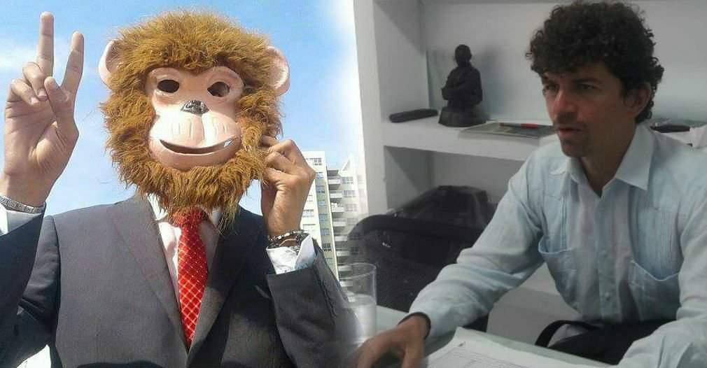 Detrás de la máscara de 'El Mono' senador de Santa Marta