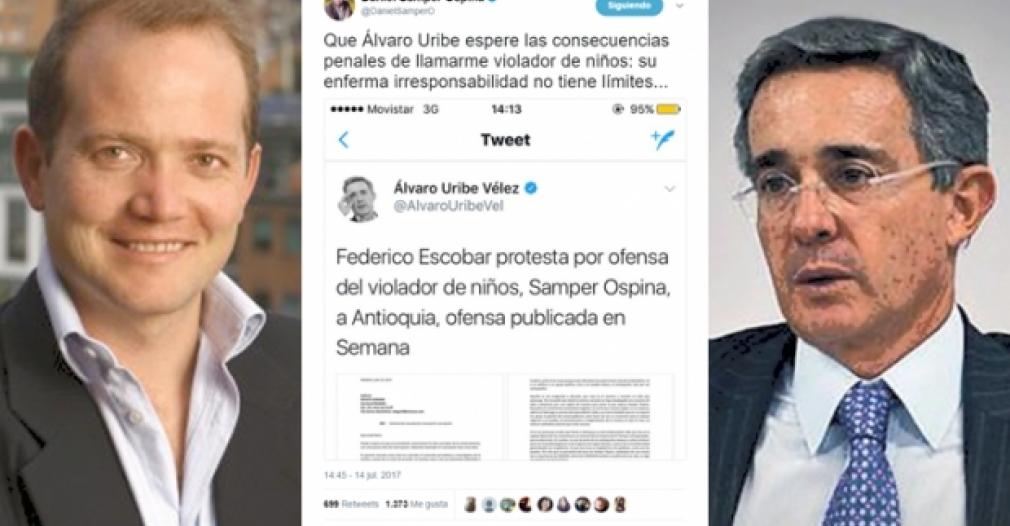 PERIODISTAS Y LA FLIP RECHAZAN ATAQUES DE ÁLVARO URIBE AL COLUMNISTA DANIEL SAMPER