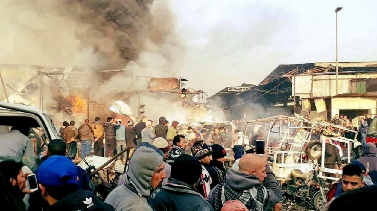 Ocho muertos y 16 heridos por explosión en una escuela al oeste de Mosul