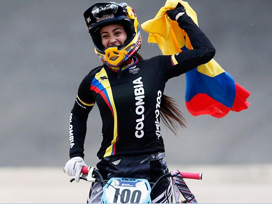 Mariana Pajón sumó un nuevo oro en la Copa Mundo de BMX