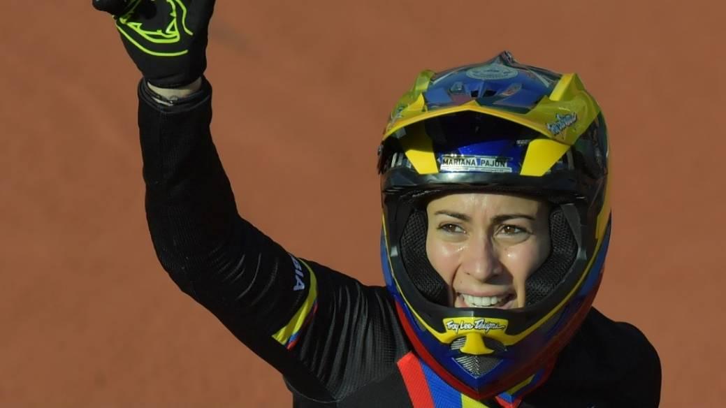 Oro para Mariana Pajón en válida de la Copa Mundo de BMX