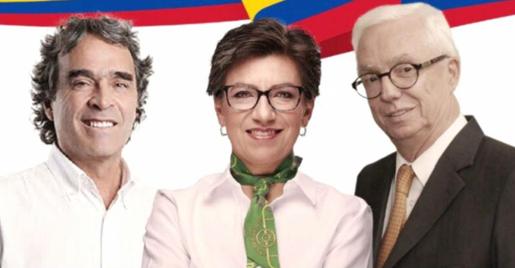 Sergio Fajardo, Claudia López y Jorge Robledo se unen en Coalición Colombia