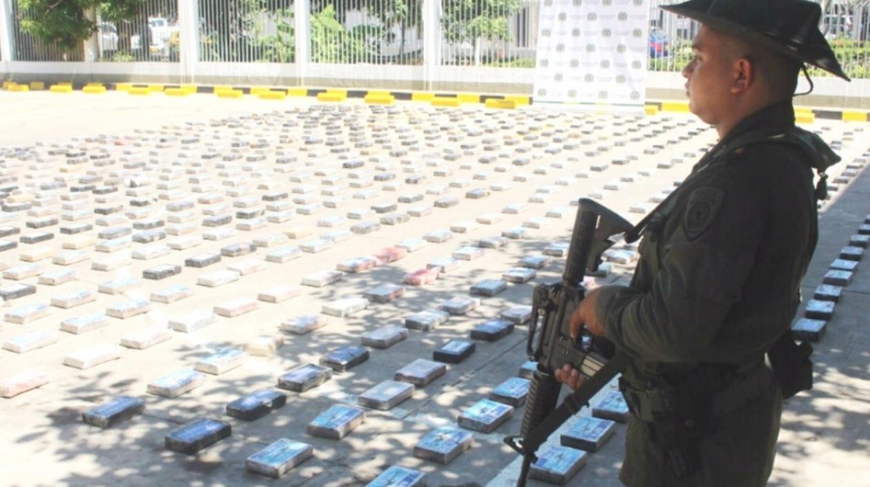 Incautan en Cartagena media tonelada de cocaína que iba a Centroamérica y Europa