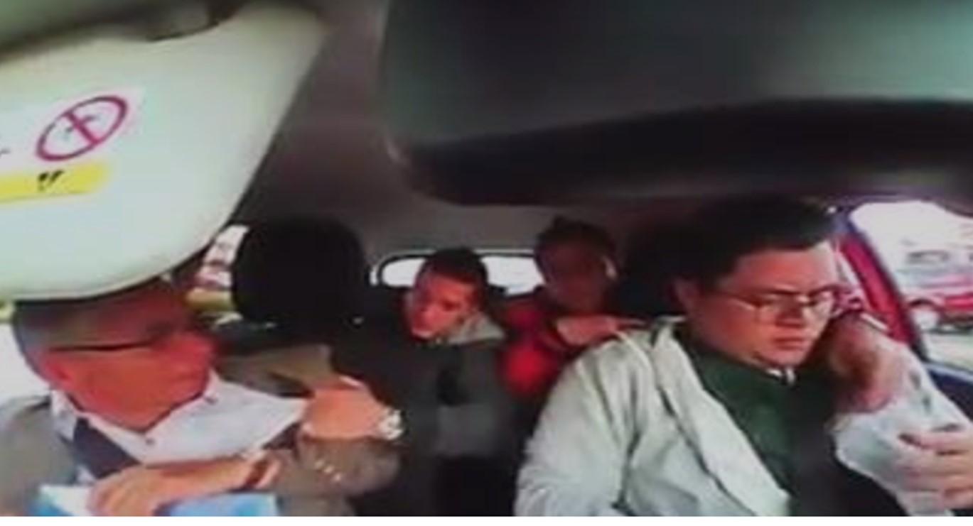 #Video Padre e hijo frustran el robo de su vehículo
