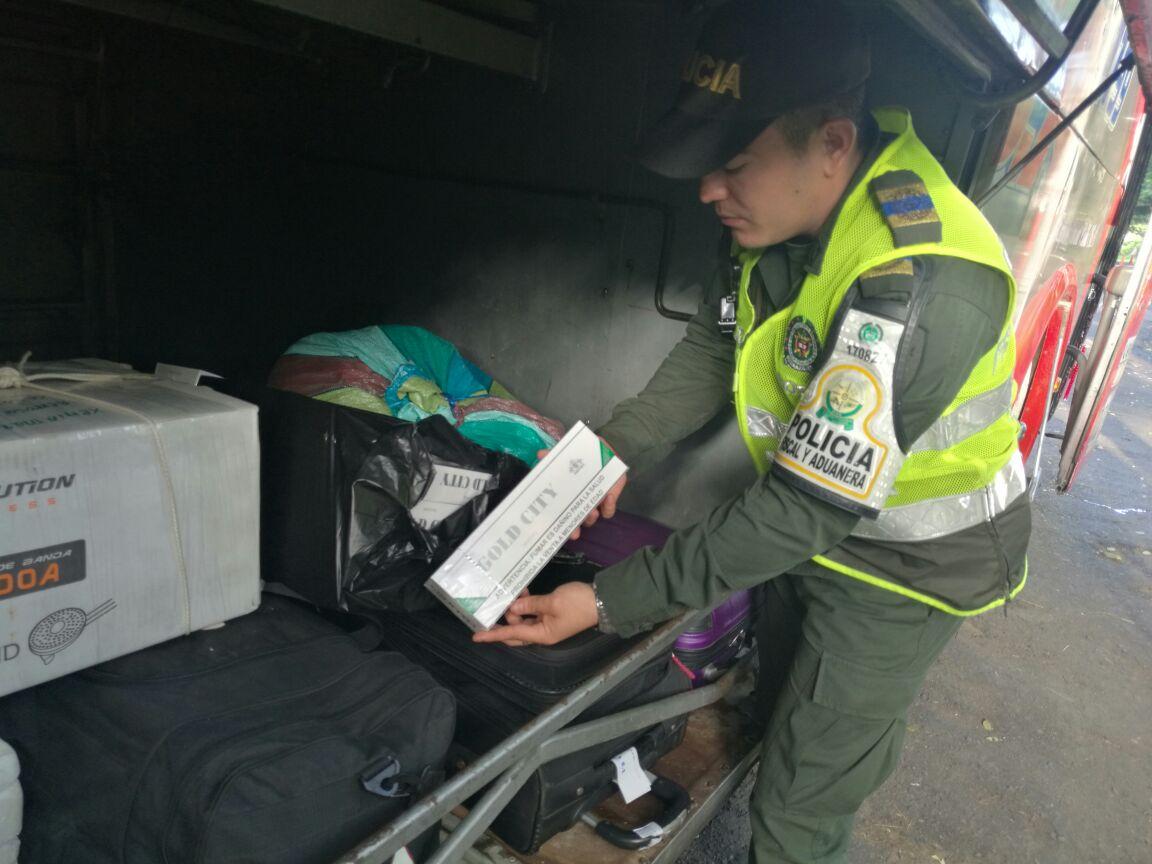 La mercancía fue dejada a disposición de la Dirección Seccional de Aduanas Santa Marta quien determinará el destino final de la misma.