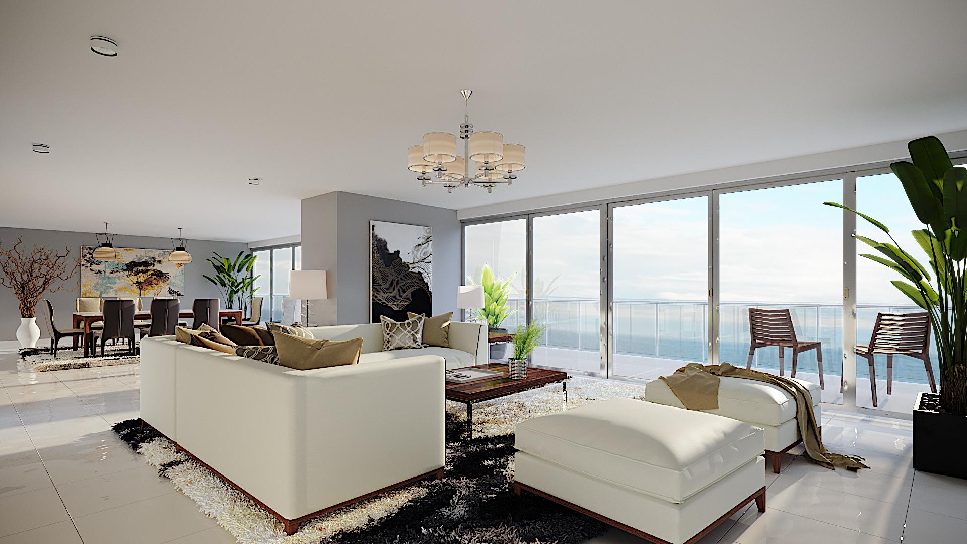 Tan solo serán 2 apartamentos por piso: uno de 220 y otro de 350 metros cuadrados.