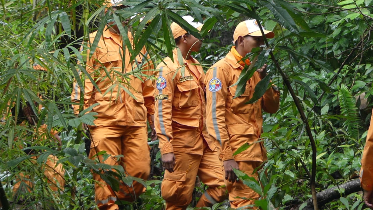 Defensa Civil apoya las actividades que se adelantan en la zona rural.
