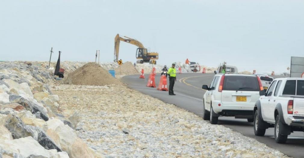 La erosión costera es una situación que preocupa al departamento y sobre todo a los habitantes de esa zona.