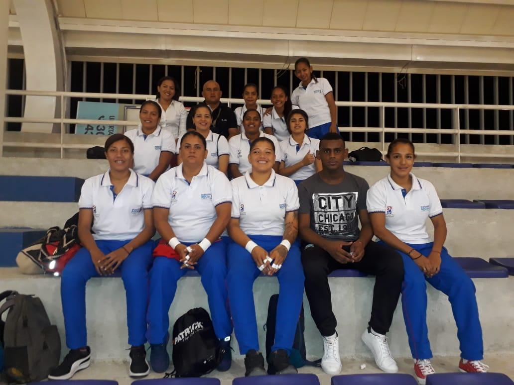 Selección Magdalena de fútbol de salón femenino.